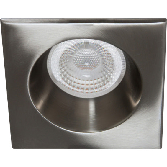 Unilamp Tilo Soft Cob+ LED 10W Børstet Stål 3225322 Downlight innendørs