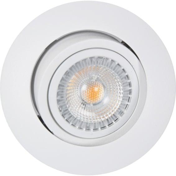 Juno SAFE+ 6,5W LED Downlight Matt Hvit