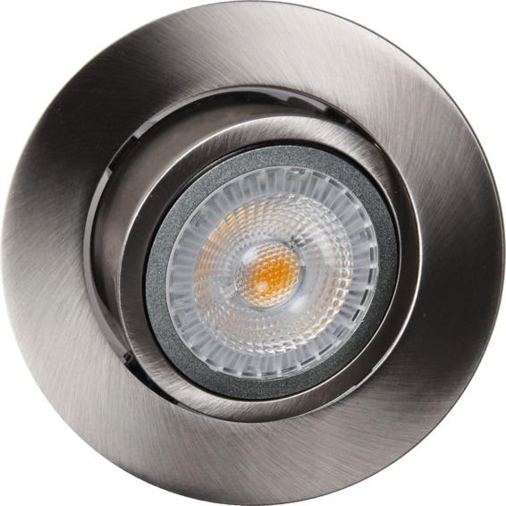 Juno SAFE+ 6,5W LED Downlight Børstet Stål