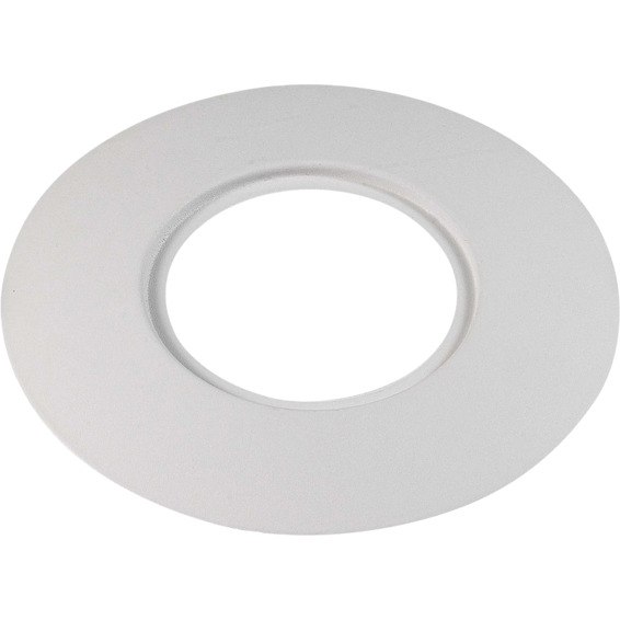 Unilamp Rehabplate Rund 130mm passer DL 94-96mm Matt Hvit 3225370 Downlight tilbehør