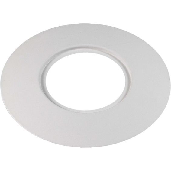 Unilamp Rehabplate Rund 180mm passer DL 94-96mm Matt Hvit 3225377 Downlight tilbehør
