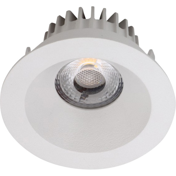 Namron Attila LED Downlight AC Soft 8W Matt Hvit 3225413 Downlight innendørs