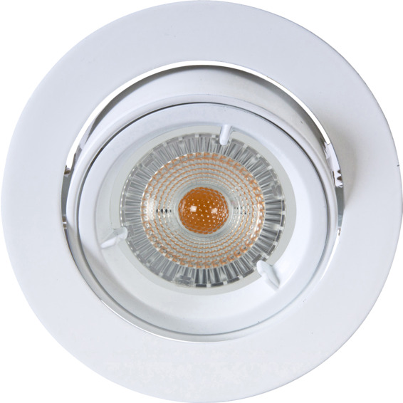 Artos LED Downlight 240V 6,5W GU10 Hvit IP23