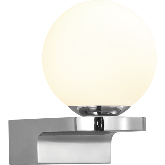 Globe LED 4,2W IP44 Krom