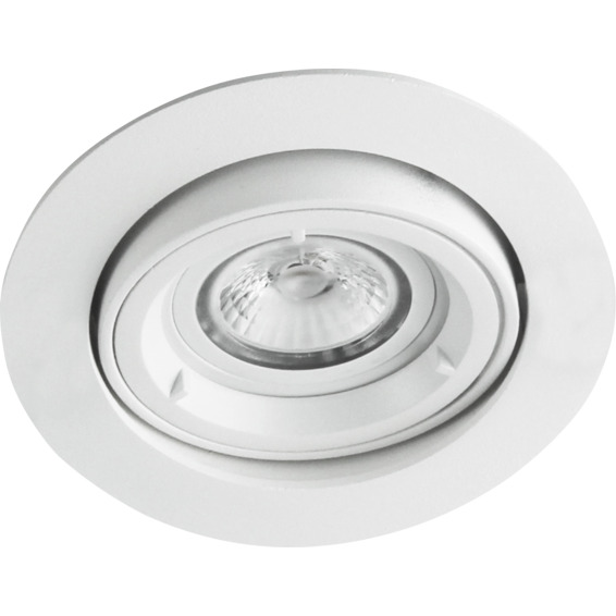 Namron Artos COB LED Downlight 5W GU10 230V Matt Hvit 3225483 Downlight innendørs