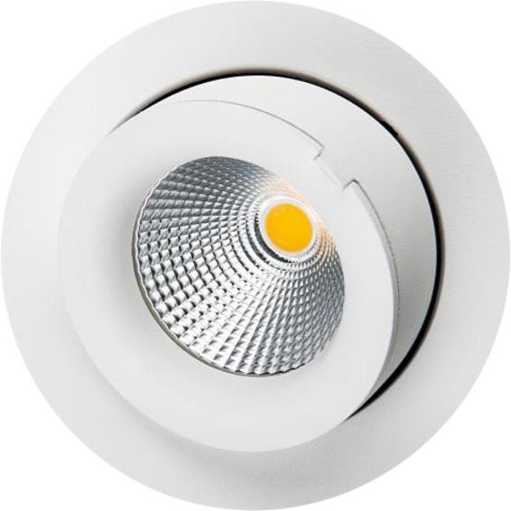 SG Junistar Exclusive 10W LED Matt-Hvit