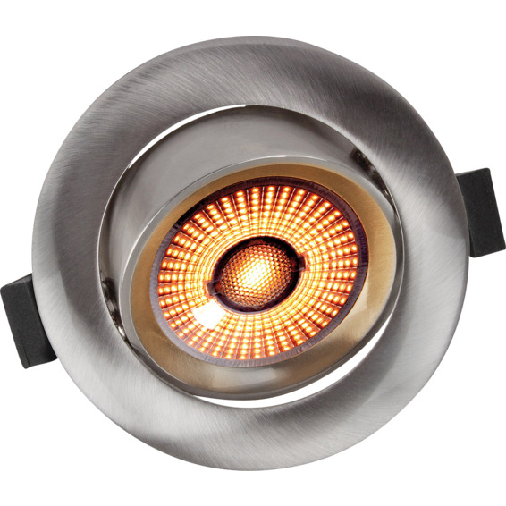 Limbo 10W WarmDim Downlight Børstet Stål