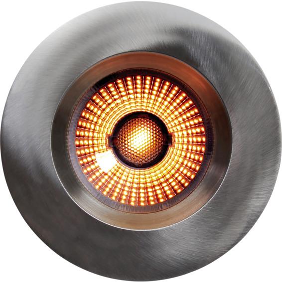 Limbo Integral 10W Warmdim Downlight Børstet Stål