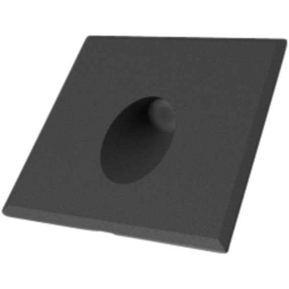 Q-Light Muro sort - DL for veggboks