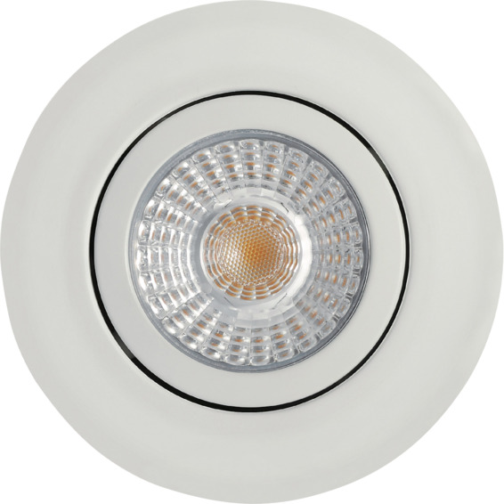 J&EL Alto Tilt LED Downlight 6W Matt Hvit 3234650 Downlight innendørs