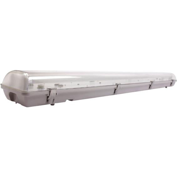 Lysarmatur Bris 2x36W IP65 El.ballast inkl. lysrør