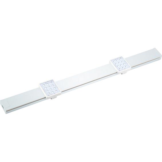 Lumi LED benkbelysning 2x3W 460lm 3000K Hvit