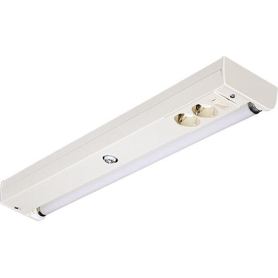 Benkarmatur Jane 1x18W 63cm m/lysrør Glamox