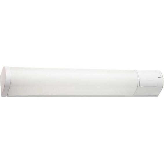 Baderomslampe Prelude 18W Hvit 72,1cm IP44 Stikkontakt SG