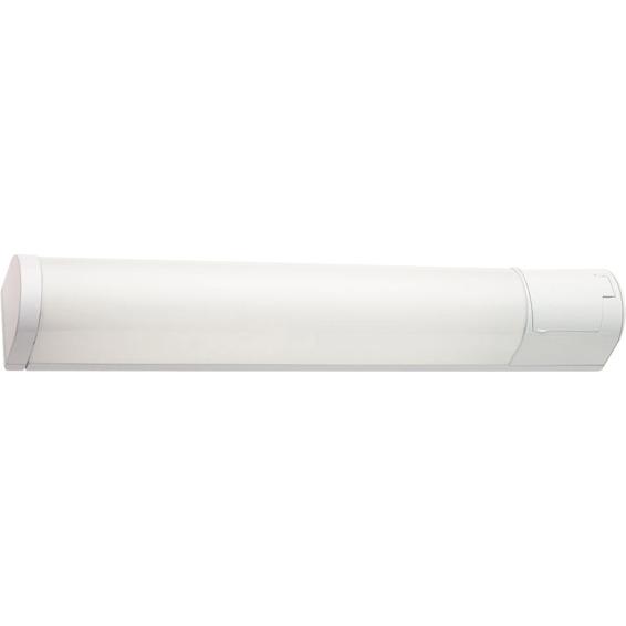Baderomslampe Prelude 14W T5 Hvit  68cm IP44 Stikkontakt SG