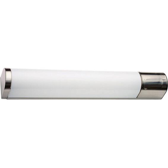 Baderomslampe Prelude 15W Stål 59,8cm IP44 Stikkontakt SG