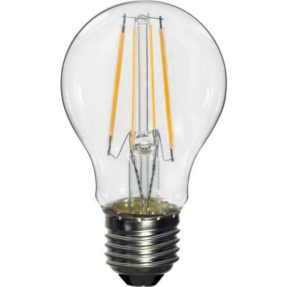 LED Pære Filament 7W E27 810lm Klar Dimm