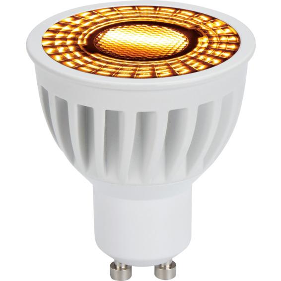 LED Pære warmdim 6W hvit GU10