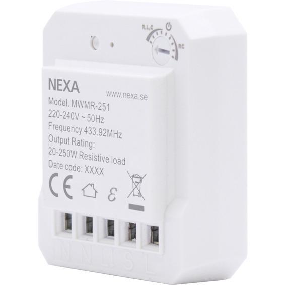 NEXA Wireless Dimmer MWMR-251 4509404 NEXA Wireless