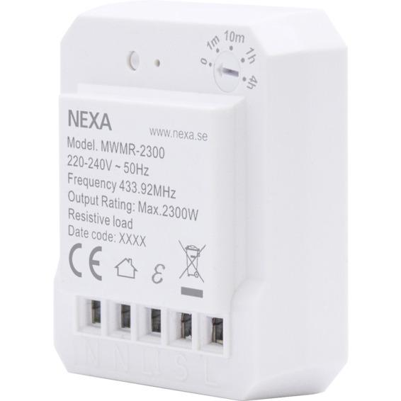 NEXA Wireless Relé Av/På MWMR-2300 4509405 NEXA Wireless