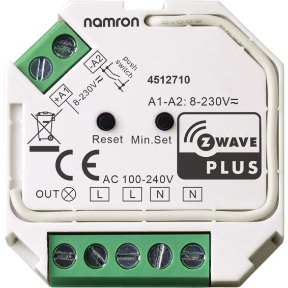 Namron Z-Wave dimmer 400W
