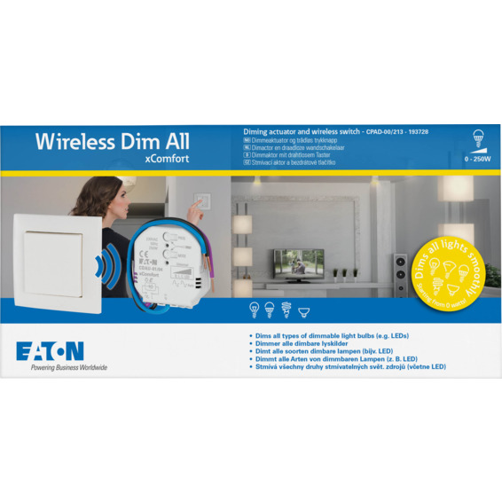 xComfort Wireless Dim All Startpakke CPAD-00/213