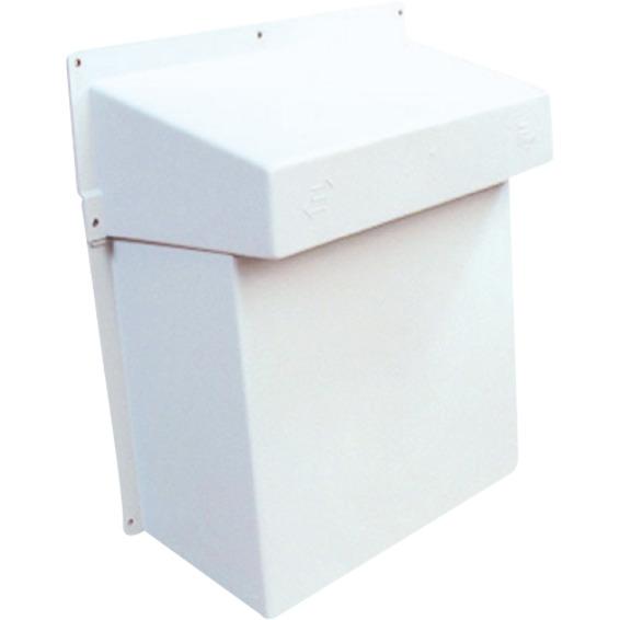 Flexit STORMKAPPE  2-DELT Hvit 49029 Ventilasjon Tilbehør
