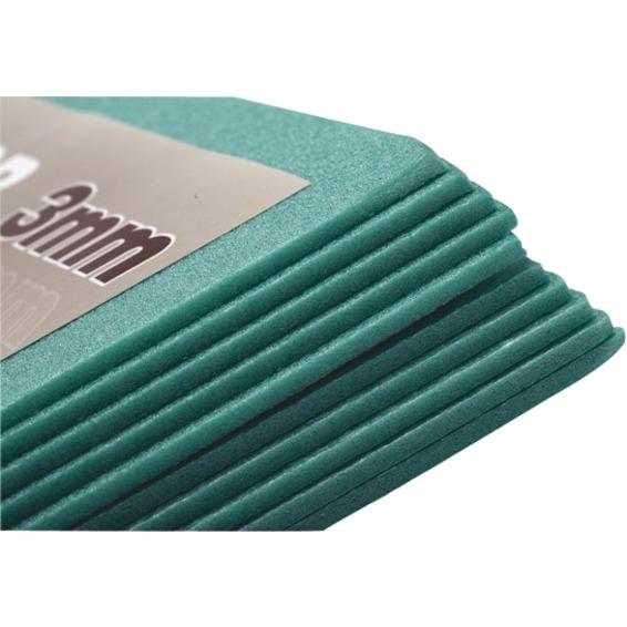 Reflektorplate Flexwatt 3mm grønn 120x50cm 0,6m² Varmecom.