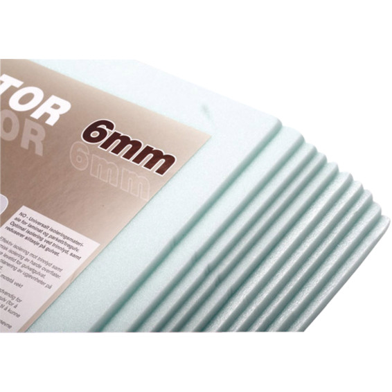 Reflektorplate Flexwatt 6mm gr�nn 120x50 cm. 0,6m� Varmecom.