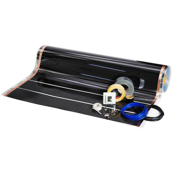 Foliekit Namron 12m² 100cm 60W/m 12,0m m/digital termostat