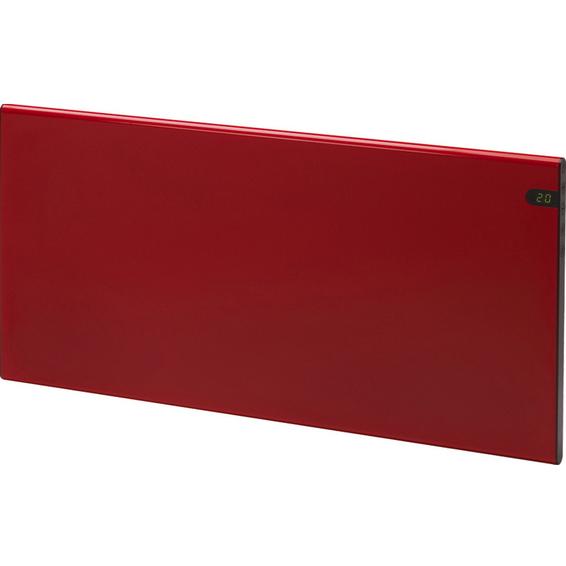 Varmeovn H30 1000w Panel Rød 77x37cm GLAMOX
