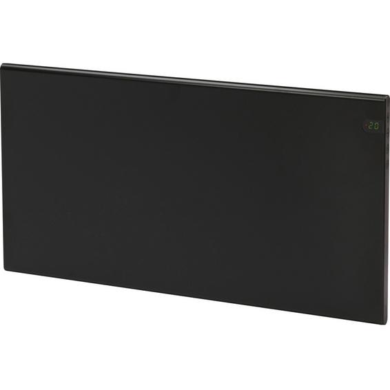 Varmeovn H30 1200w Panel Sort 94x37cm GLAMOX
