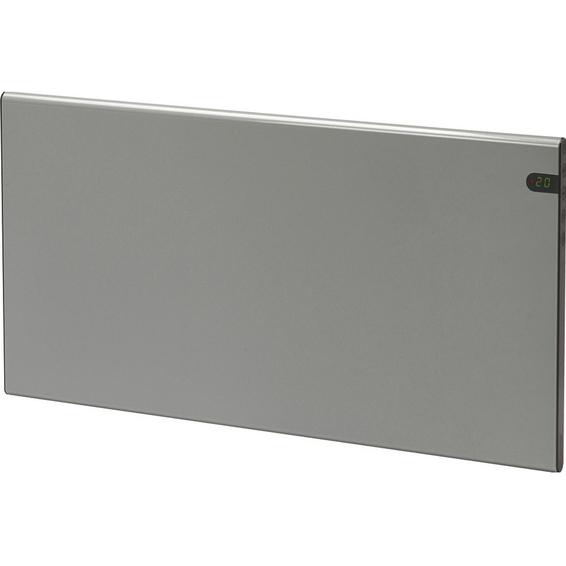 Varmeovn H30 1000w Panel Sølvgrå 77x37cm GLAMOX