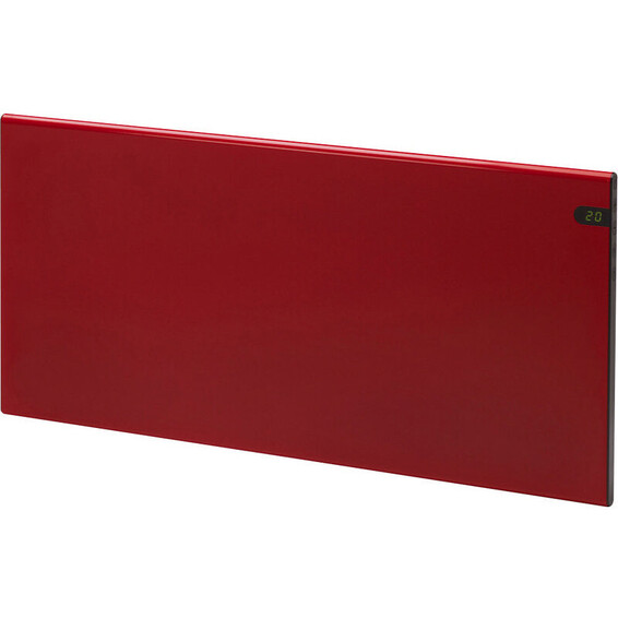 Varmeovn H30 600w Panel Rød 59x37cm GLAMOX