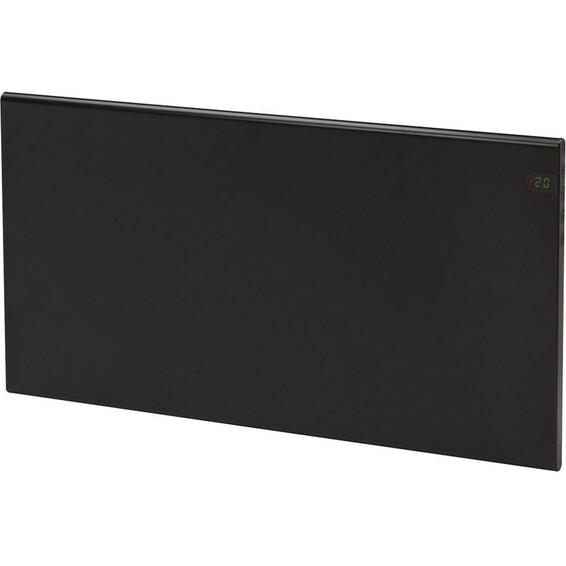 Varmeovn H30 600w Panel Sort 59x37cm GLAMOX