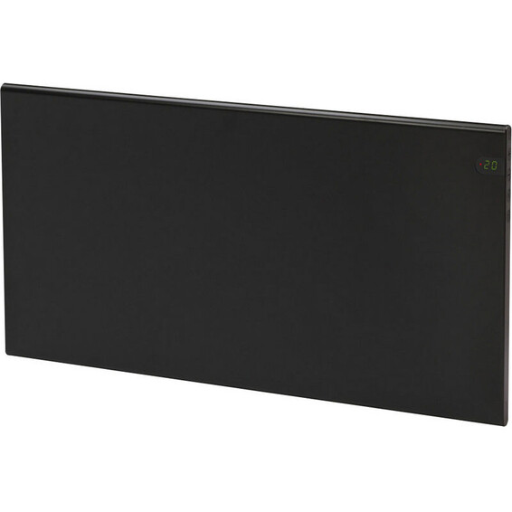 Varmeovn H30 1400W Panel Sort 105x37cm GLAMOX