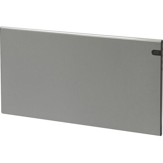 Varmeovn H30 600w Panel Sølvgrå 59x37cm GLAMOX