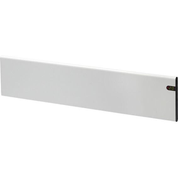 Varmeovn H30 1000W List Hvit 128x20cm GLAMOX