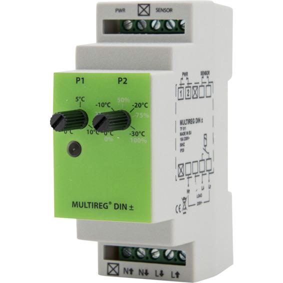 MULTIREG DIN+- termostat 3600W 16A 5430166 Analog Termostat