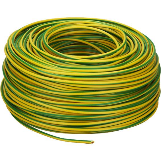 PN 10mm² Gul/Grønn Bunt 10m