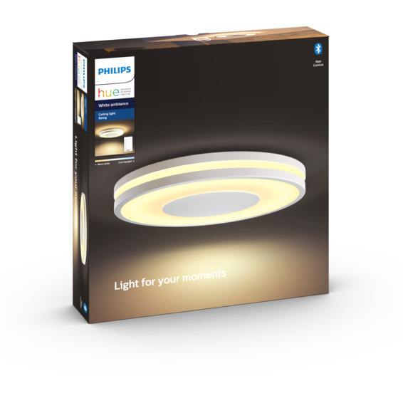 Philips Hue WA Being Taklampe 27W Hvit ink dim