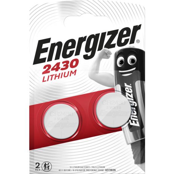 Batteri CR2430 Lithium 3V ENERGIZER