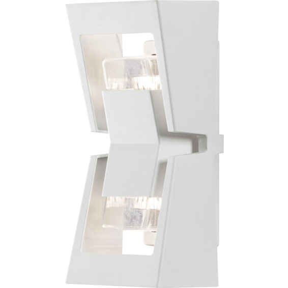 Potenza II vegglampe GU10 hvit IP54