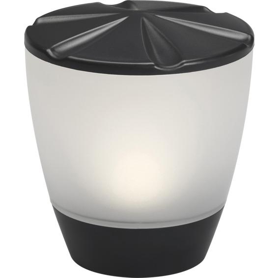 Assisi-Turner solcellslampe LED svart IP44