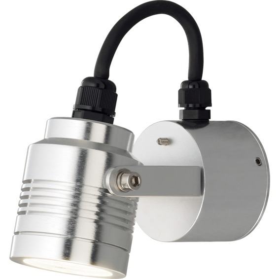 Monza vegglampe justerbar aluminium 3x1W LED IP54