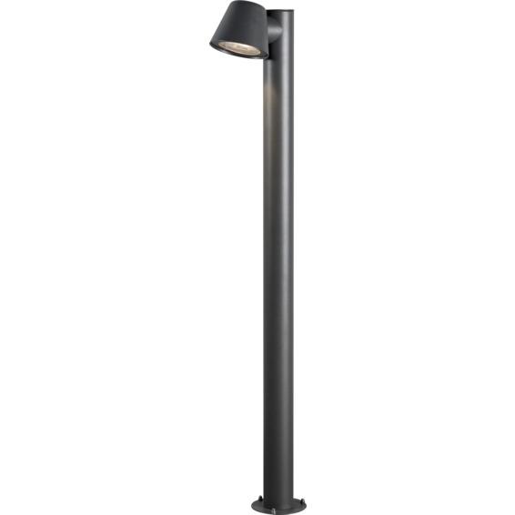 Trieste lyktestolpe GU10 svart inkl stolpe IP44