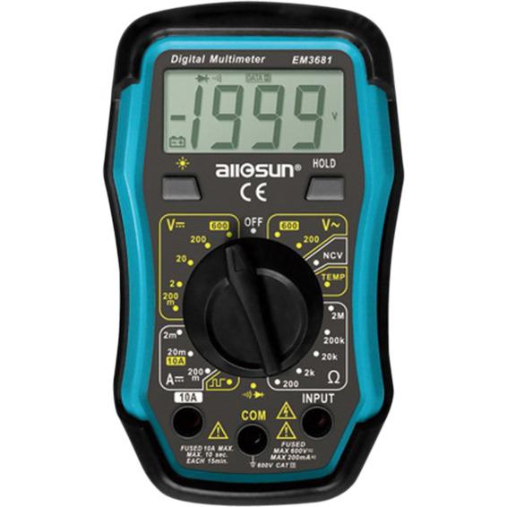 Digital Multimeter EM3680 CAT III 600V
