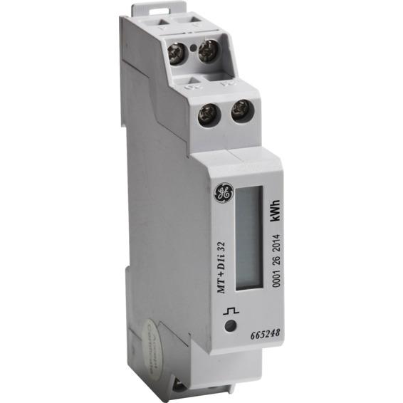 Måler digital. 1-FAS 1-Mod. 32A. IT D1i32 GE