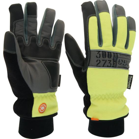 Vintervernehanske RIGG Leather Str 10