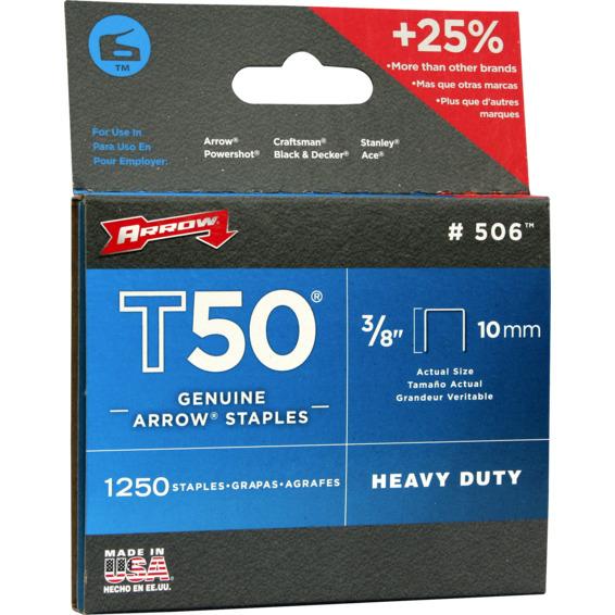 Arrow stifter 10mm T50 3/8